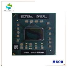 Amd turion ii ウルトラデュアルコア携帯 TMM600 M600 TMM600DBO23GQ 2.4 グラム 2 メートル cpu latop プロセッサソケット S1