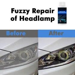 30ml Car Headlight Repair Agent Anti-scratch Retreading Headlight Polish Anti-scratch Spray Car Maintenance Care Tool TSLM1