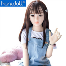 Hanidoll Silicone Sex Doll 100cm/125cm Mini Love Full Sized Realistic Vagina Oral Anal Breast Masturbator doll