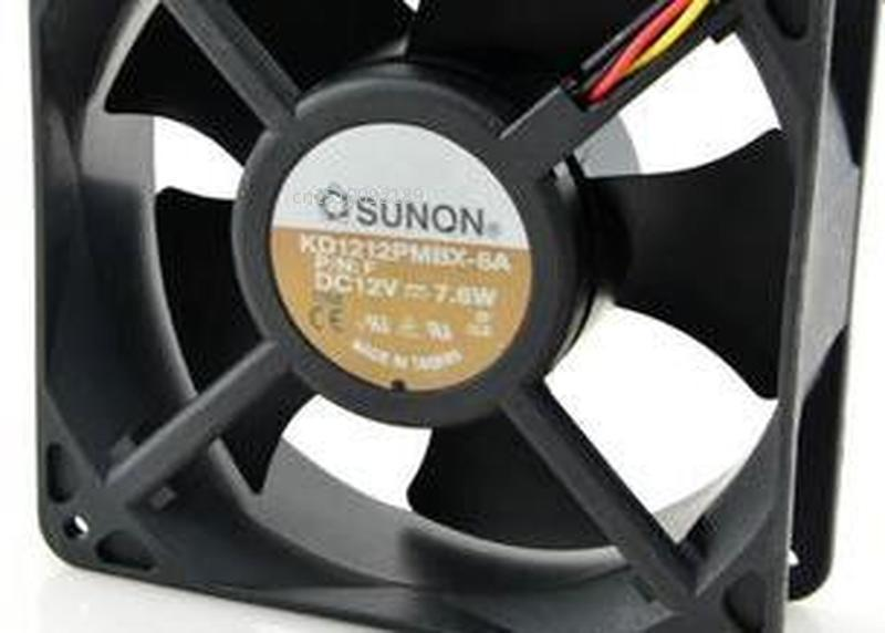 For 12038 Axial Chassis Cooling Fan KD1212PMBX - 6 - A 12 V 7.6 W Free Shipping