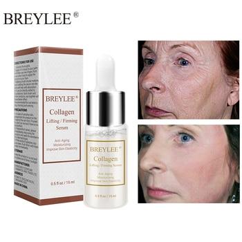 BREYLEE Collagen Serum Lifting Firming Hyaluronic Acid Moisturizing Essence Anti-Aging Remove Wrinkles Face Cream Skin Care 15ml цена 2017