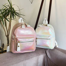 Mini Small Backpacks for Teenage Girl Women Fashion Backpack Ladies Shoulder Bags Cute PU Leather Small Backpack(China)
