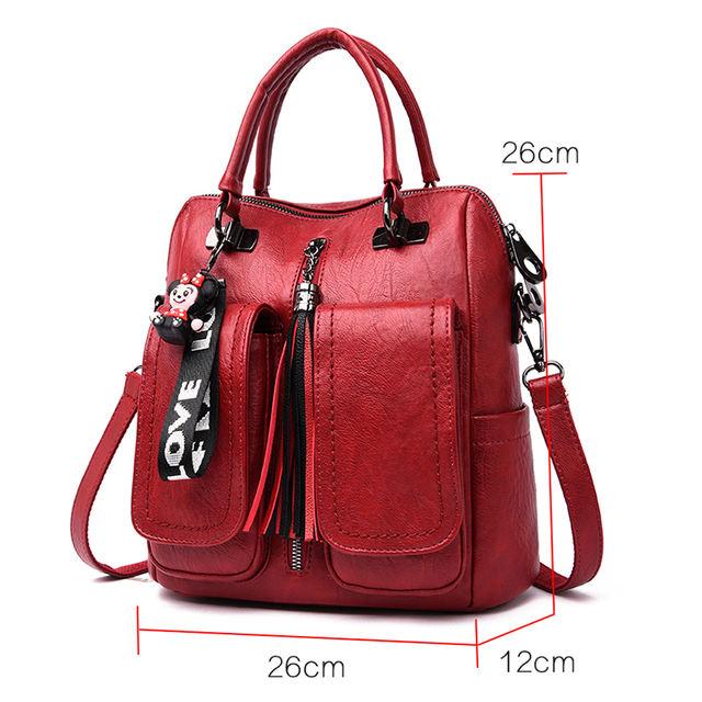 3 in 1 Backpacks for Women, Vintage Shoulder Bags for Women