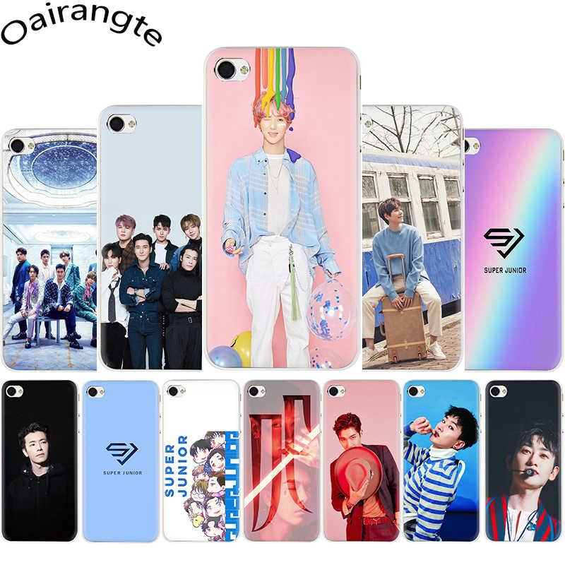 Super Junior Koreaanse Kpop Hard Telefoon Cover Case Voor Iphone 5 5S 5C Se 2020 6 6S Plus 7 8 Plus X Xr Xs 11 Pro Max