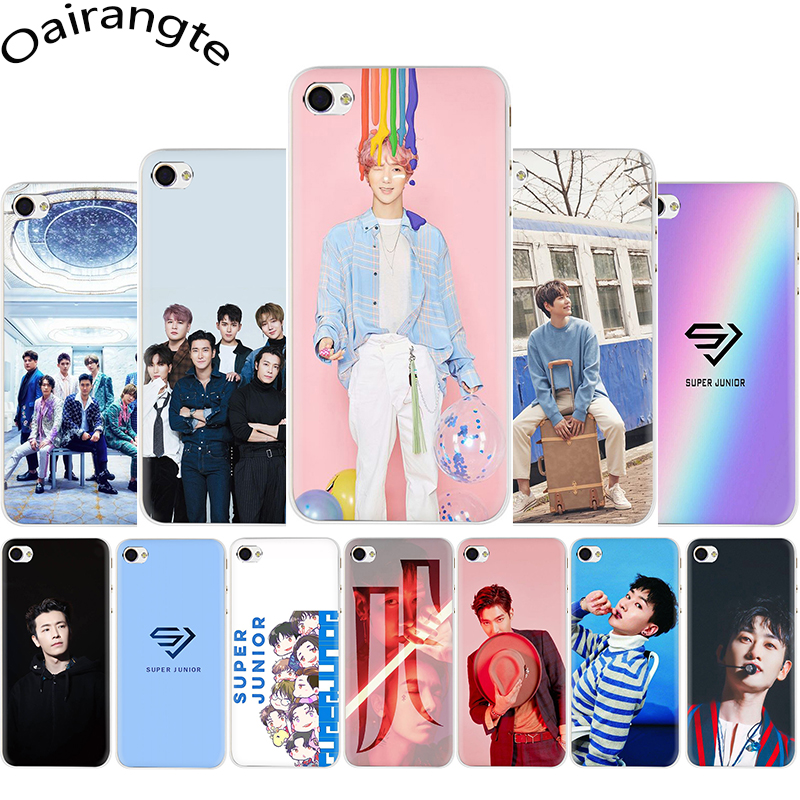 Super Junior Koreanische Kpop Harte telefon abdeckung fall für <font><b>iphone</b></font> 5 5S 5C <font><b>6</b></font> 6S <font><b>Plus</b></font> 7 8 <font><b>Plus</b></font> X XR XS 11 Pro MAX image
