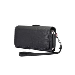 Универсальный кожаный чехол-сумка, чехол-кобура для iPhone 8 / 7 / 6s/ 5G, чехол для телефона с клипсой на поясе для Samsung Galaxy J7-201