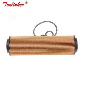 Image 2 - Oil Filter A2711800009 1 Pcs For Mercedes Benz CLK A209 C209 2003 2010 200CGI 200Kompressor Model High Quailty Paper Oil Filter