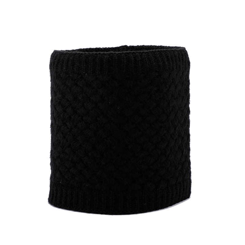 ROYALWAY קמפינג טיולים נסיעות נשים חם חורף צוואר חם לעבות צעיפי בעבודת יד סוודר צוואר צעיף RPSB4307I
