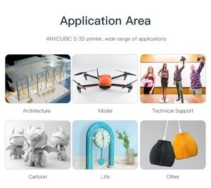 Image 3 - ANYCUBIC מגה S 3D מדפסת impressora מכבש TFT מגע מסך Ultrabase ענק לבנות נפח PLA שולחן העבודה impresora 3d דרוקר