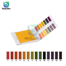 80 Strips 1-14 PH Meter Indicator Paper Testing Paper Tester Urine Health Care Paper Water Soilsting Kit