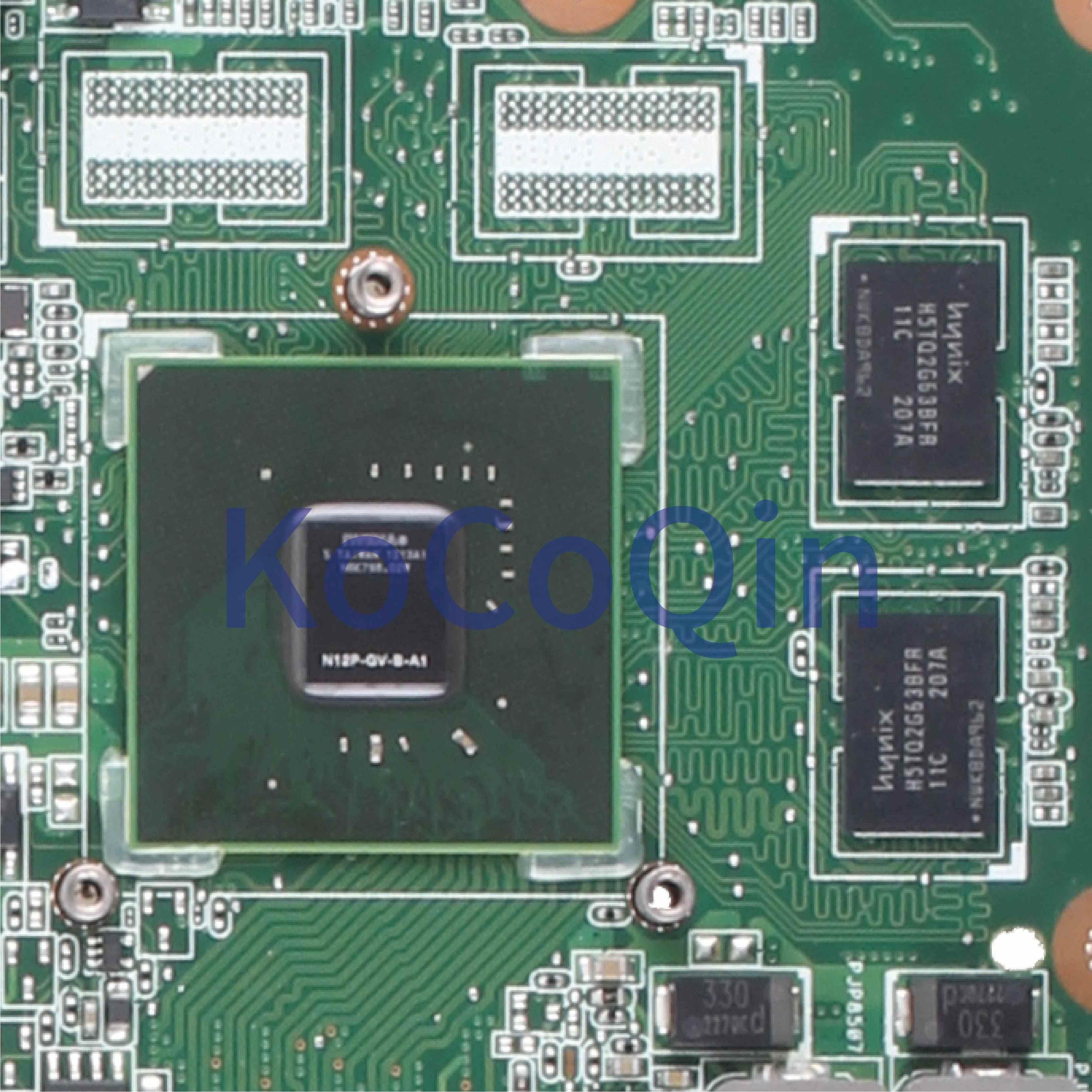 Kocoqin Motherboard Laptop UNTUK ASUS K53SV X53S A53S K53S K53SC P53SJ K53SM K53SJ Mainboard REV.3.00 HM65 N12P-GV-B-A1