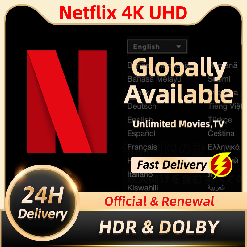 2021 Netflixes Premium Acc 1-5 Screens 4K UHD Avaliable Worldwide