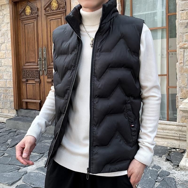 New Arrival Sleeveless Jacket Men Fashion Couple Waistcoats Male Soft Men Casual Vest Outerwear Clothing Sleeveless Veste Homme