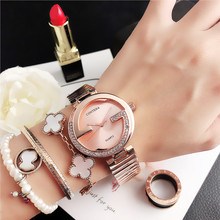 CONTENA Women Diamond Fashion Ladies Watch Relogio Feminino Women's Dre