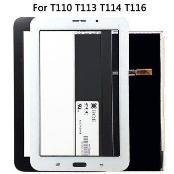 Voor Samsung Galaxy Tab 3 T110 T111 T113 T116 T114 Lcd-scherm + Touch Sensor Glas Digitizer Panel