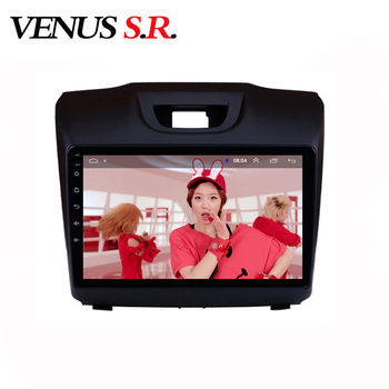 VenusSR Android 8.1 2.5D car dvd for Chevrolet S10 TRAILBLAZER ISUZU D-MAX multimedia headunit GPS Radio stereo gps navigation image