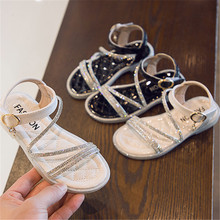 2020 Fashion Girls Sandals Summer Kids Shoes For Girls Bling
