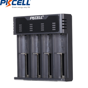 Image 1 - PKCELL Smart battery Charger for 1.2v 3.7v AA/AAA 18650 rechargeable battery NIMH/NICD charger Indicators fast charging