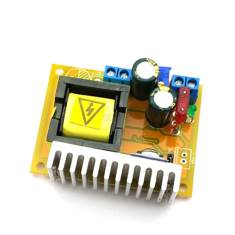 DC-DC повышающий преобразователь постоянного тока с 8-32V постоянного тока до 45-390V Высокая Напряжение звс конденсатор с алюминиевой крышкой, за...