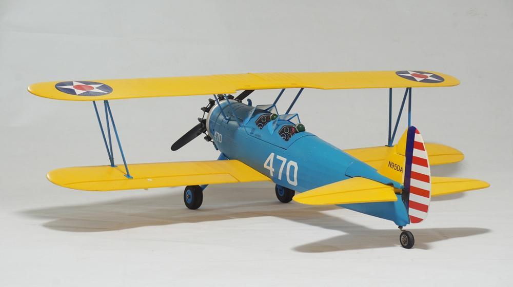 4 Ch RC Flugzeug PT17 Kit ohne Elektronik-in RC-Flugzeuge aus Spielzeug und Hobbys bei  Gruppe 1