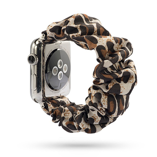Fashion Scrunchie Band for Apple Watch 1