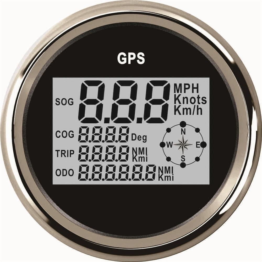 1 шт. авто тюнинг измерительные приборы 85 мм цифровой gps спидометры gps одометры мотоцикл индикатор настройки 9-В 32 В с подсветкой и антенной