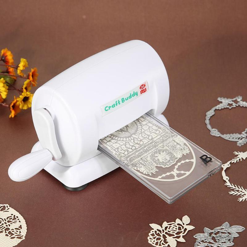 Высечка выбивая машина Скрапбукинг резак кусок высечки бумаги Резак высечки машины DIY инструмент для тиснения