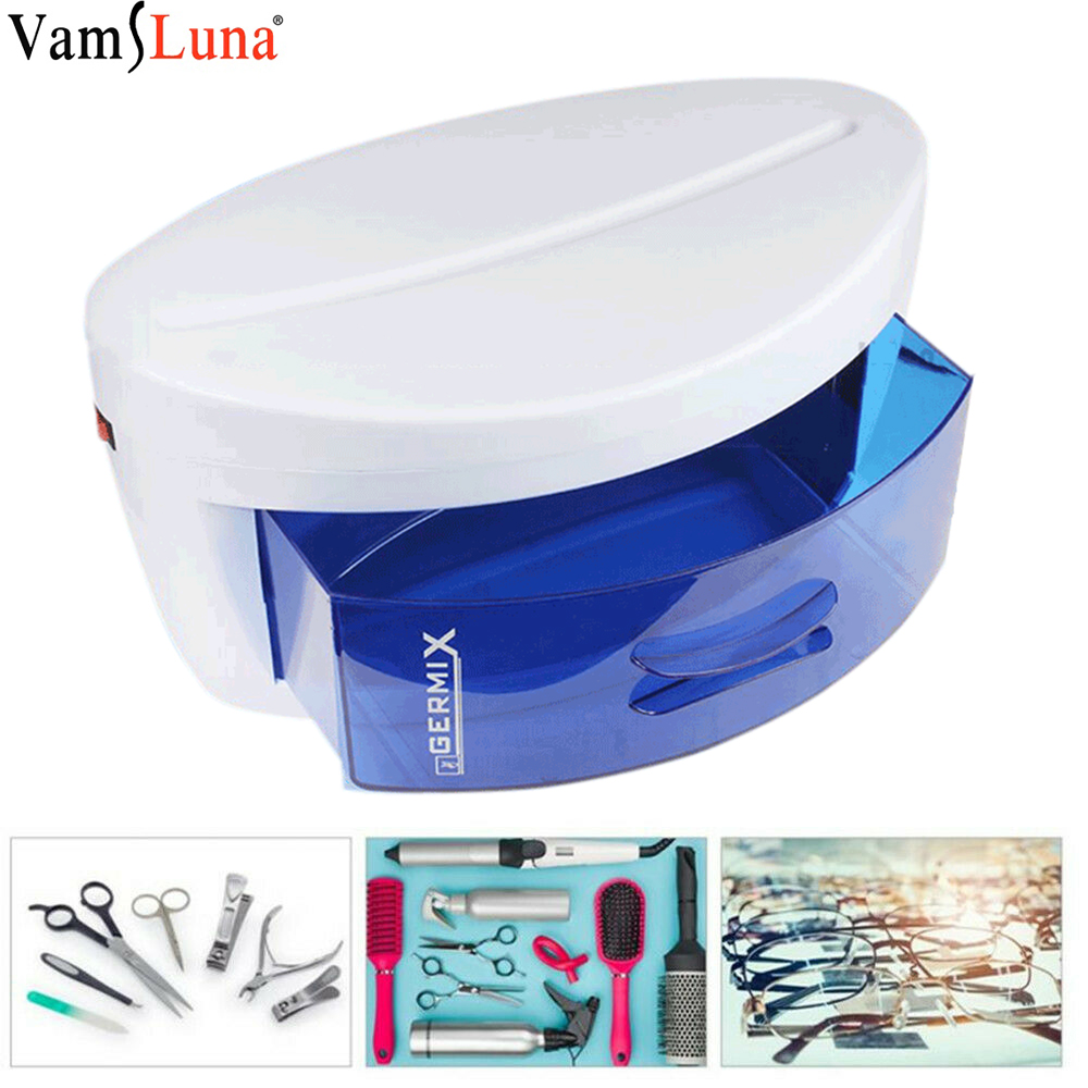 UV Sterilizer Disinfection Cabinet Ultraviolet Light Sterilization Manicure Tools Beauty Salon UV Sterilizer Box Nail Sanitizer