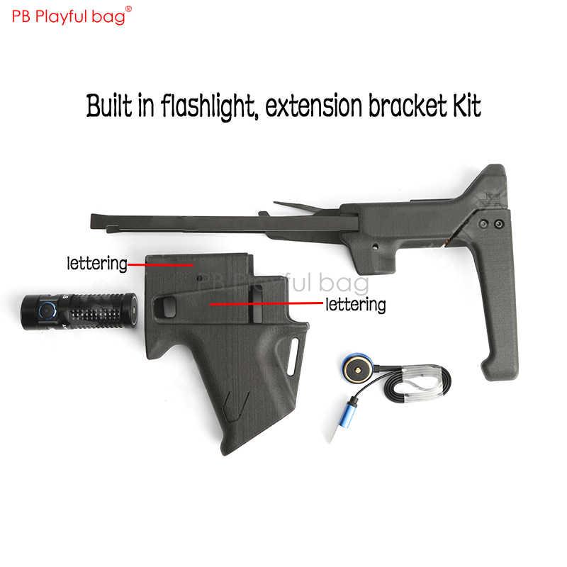 水弾丸改装 P1 アップグレード素材のスライドスリーブナイロン焼結リア-サポート/グリップ水弾丸おもちゃの銃アクセサリー KD66