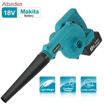 цена на Rechargeable Air Leaf Blower Makita 18V Battery Dust Collector Computer Car Cleaner Cordless Vacuum Cleaner Electric Power Tool