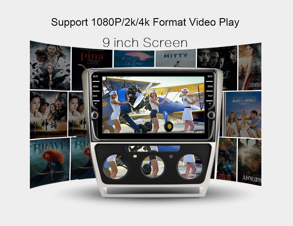 Funrover android9.0 reprodutor multimídia do carro para