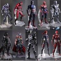 Movie Avengers Play Art Kai Action Figures Captain American/siperman/Black Widow/Ironman/batman/x men/the Flash Figures Toy Doll