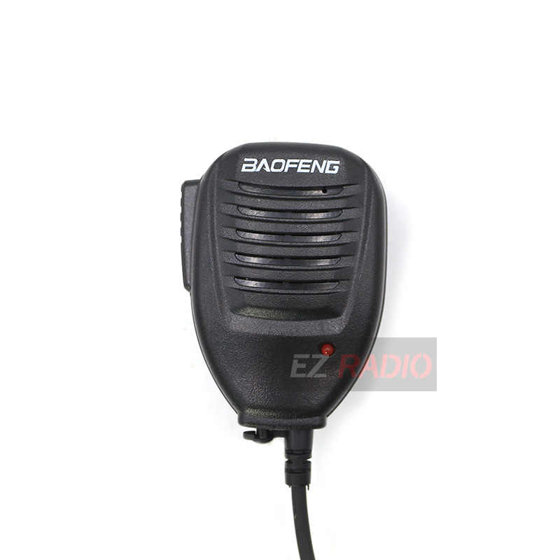 Originele Baofeng Radio Speaker Mic Microfoon Ptt Voor UV-5R Twee Manier Radio Walkie Talkie UV-R50 UV-5RE UV-5RA BF-V9 UV-6R H777