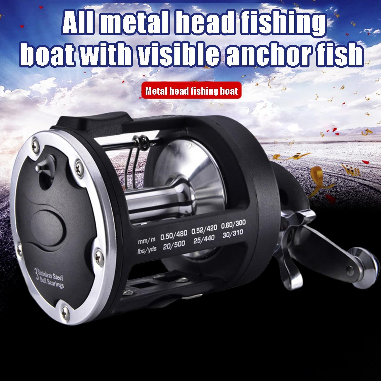 trolling tambor carretel de pesca de água