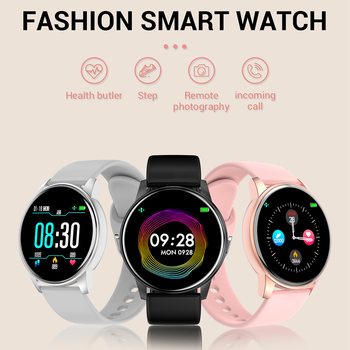 LEMFO Smart Watch Men Real-time Weather Forecast Activity Tracker Heart Rate Monitor Sports Smart Watch Women For Android IOS 2