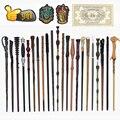 27 видов волшебных палочек с металлическим сердечником Харрис, косплей, волшебный жемчуг Гермиона, волшебная палочка, билет с тканевой этике...