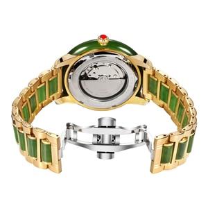 Image 5 - 2020 חדש גבירותיי ירקן צמיד שעון מכאני באופן מלא אוטומטי שעונים עם לוח שנה תצוגת פונקצית תעודת הערכה