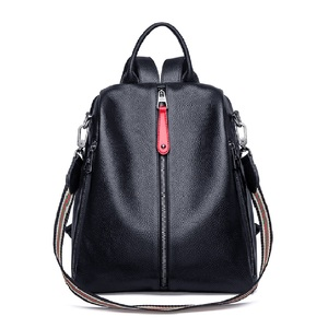Image 3 - ZOOLER 2020 NEW Black Travel Bag Real Leather Backpack Women Genuine Leather Backpacks Fashion Luxury Backpack Bags Girls#HS209