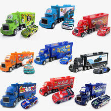 Disney Pixar Cars 3 Toy Lightning Mcqueen Jackson Storm Mack Uncle Truck 1:55 Diecast Metal Car Toys For Children Birthday Gifts