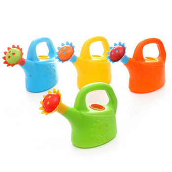 Home Sprinkler Spray Garden Plastic Beach Cute Cartoon Flowers Kids Watering Can Bottle Bath Toy Early Education Watering Toy