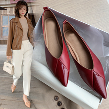 INS hot women pumps Genuine Leather shoes
