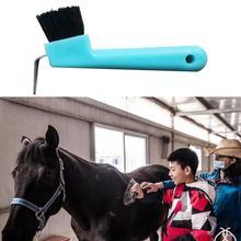 Plastic  Premium Horseshoe Care Tool Scrub Eco-friendly Horse Hoof Tool Anti-break   for Outdoor