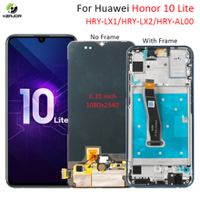 Display For Huawei Honor 10 Lite LCD Display Touch Screen New Digitizer Replacement Parts With Frame For Honor 10Lite Display srjtek 10 1 for chuwi hi10 cw1515 hsctp 747 10 1 v0 lcd display with touch screen digitizer glass sensor replacement new parts