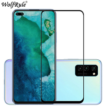 2PCS For Huawei Honor V30 Glass For Honor View 30 Full Glue Screen Protector Tempered Glass For Huawei Honor V30 V30 Pro Glass 2 in 1 full cover 9d tempered glass for huawei honor v30 v30 pro v20 screen protector