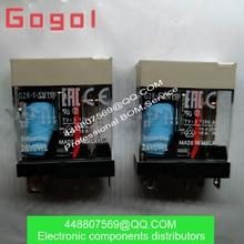 OMRON RELÉ PÇS/LOTE 5 G2R-1-SN(S) 24VDC G2R-1-SN(S) DC24V relé novo e original da Marca 100% novo lugar original