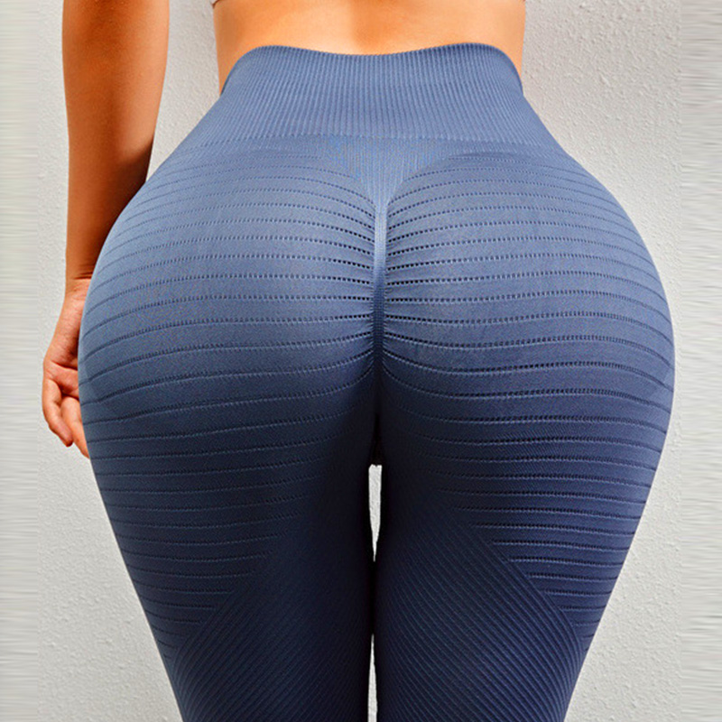 Dikişsiz tayt kadın Yoga pantolon spor kadın spor spor tayt spor Femme Yoga spor tayt Push Up Scrunch tozluk