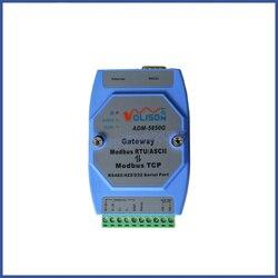 ADM-5850G przemysłowe Modbus bramka serwer  MODBUS RTU/ASCII do Modbus TCP  PLC portu szeregowego
