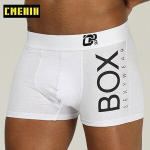 Sexy Underwear Men Boxer Male Panties Pure Cotton Boxers Mens Underpants Long Boxer Soft Boxershorts Men Lingerie Gay OR212