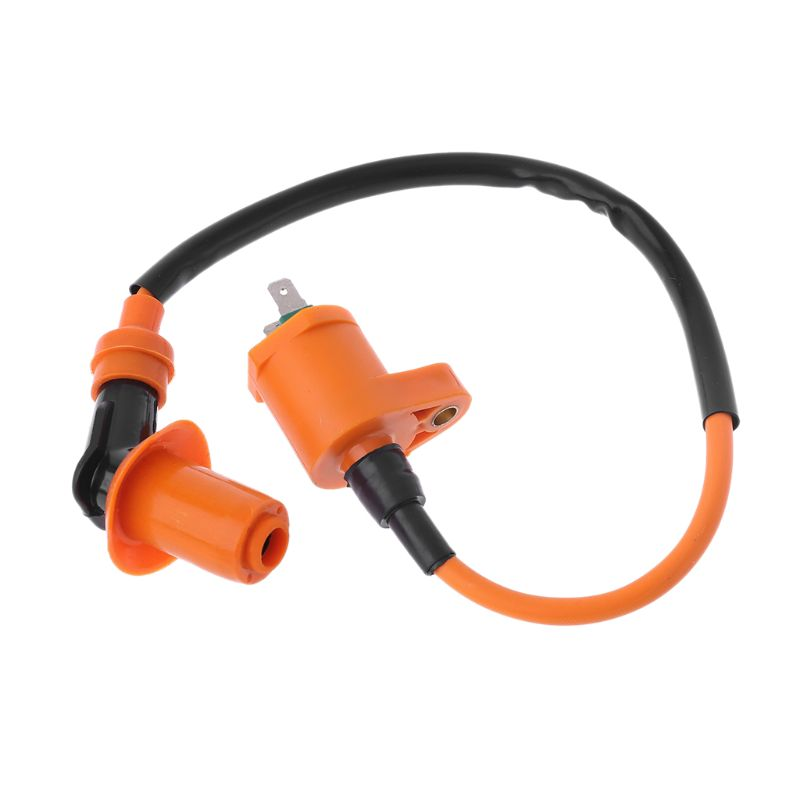 Image 5 - Motorcycle Racing Ignition Coil Spare Parts For For GY6 50cc 125cc 150cc 250cc Engines Moped Scooter ATV Qaud  qiang-in Ignition Coil from Automobiles & Motorcycles