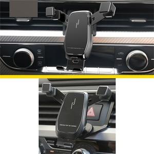 Image 3 - Auto Telefon Halter Für Audi A3 /Q2L /A1 /A4L /A6L /Q5L Air Vent Mount Halterung gewidmet Horizontale und Vertikale Bildschirm Navigation